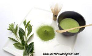 Bột trà xanh có tác dụng chống oxy hóa cực kì tốt