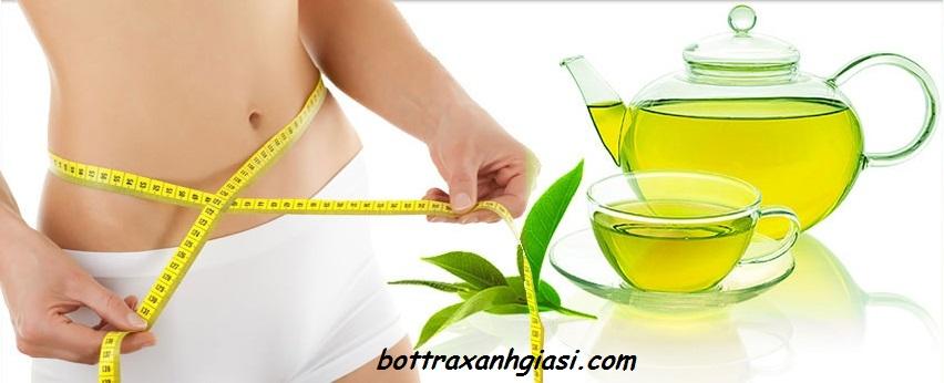 Bột trà xanh giảm cảm giác thèm ăn giúp cơ thể hạn chế sự hấp thụ chất béo