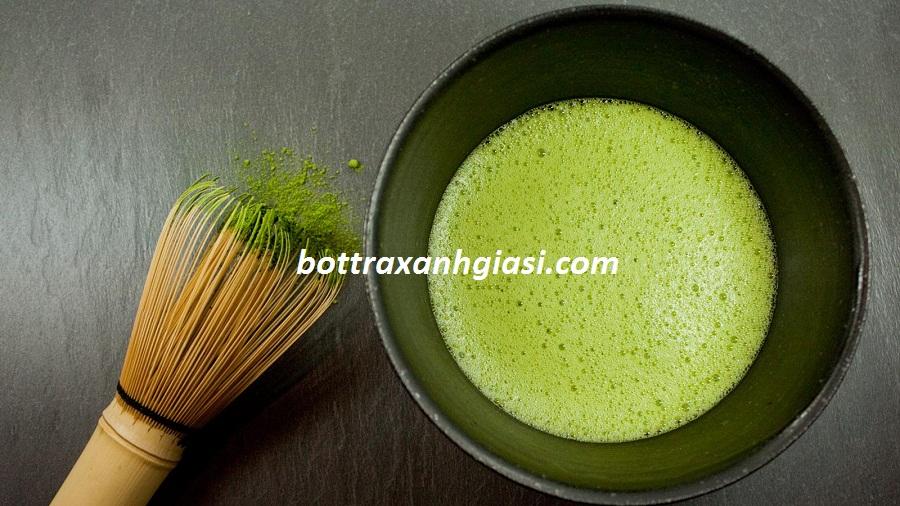 Nước cốt bột trà xanh matcha
