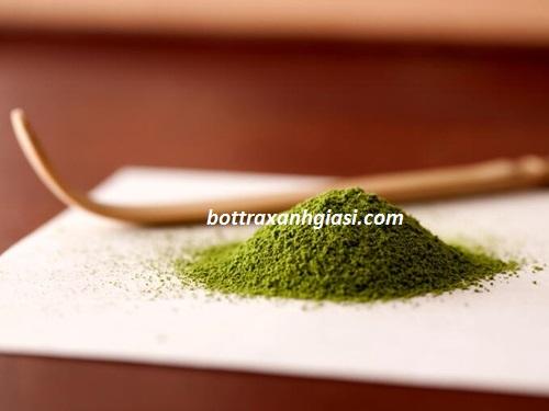 Giảm cân bằng bột trà xanh an toàn hiệu quả