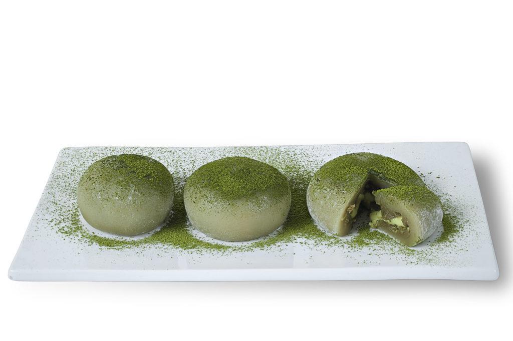Món bánh thơm ngon với bột trà xanh Nhật Bản matcha