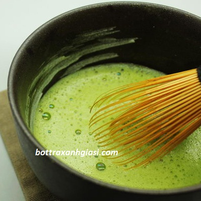 Bột trà xanh nguyên chất được làm từ những búp trà tươi thơm ngon